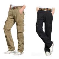 camping pants man outdoor autumn breathable mens casual tactical pants brand military long sweatpants khaki pants