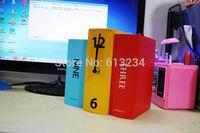 Free Shipping 1Piece Book Set Desk Clock /Novelty Karlsson Books Clock /home alarm clock