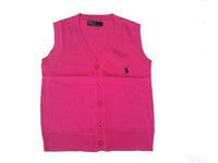 Retail  Brand  2014  New  fashion  spring/autumn  children's   sweater  V-Neck   sleeveless  unisex  sweater   free  shipping