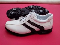Free Shipping 2014 Summer New Arrival Sports Golf Shoes With Durable Leather Waterproof Shoes for Man