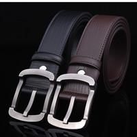 2014 hot selling fashion genuine leather men's belt high quality designer belt for men