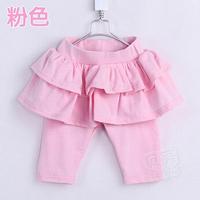 2014 summer fashionable laciness girls clothing layered 5 legging pants K0772