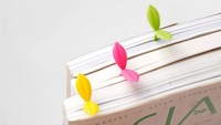 free shipping 10pcs/lot  2014 new arrived novelty Bookzzicard multi-colored Sproutsbookmark
