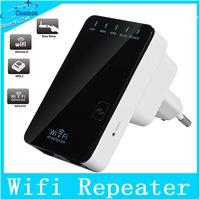 mnin Wireless-N Router AP Repeater Booster WIFI Amplifier EU Plug Adapter LAN Client Bridge IEEE 802.11 b/g/n 300Mbps