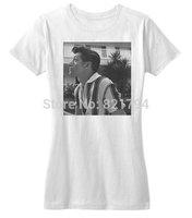 Arctic Monkeys Alex Turner Portrait T-Shirt 2014 New Women T-shirt 100% Cotton Customized Logo Free Shipping