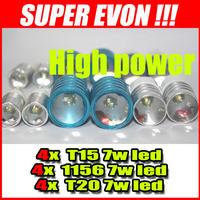 12v led cree car work light high power cree 7w LED T15 & 1156 & T20  CL20