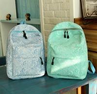2014 new fashion shoulder bag Korean version of the trend lace shoulder bag large capacity bag backpack women backpack