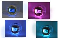 6 Color Changing Light Alarm Clock with Nature Sou LED Digital Alarm