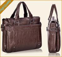 2014 luxury genuine leather men's dress handbags shoulder bag leather totes briefcase Business bag for men messenger bags