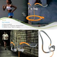 Retail box PMX80 PMX 80 Sport earphones Stereo Sleek Ergonomic Powerful Neckband Earphone Earbud Headphone Free Shipping