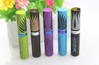 Free shipping! 2014 New Fashion Super Curling Volume Mascara Waterproof  Long lasting Eyelashes Extending, 5 Colors option