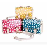 2014 new arrival women handbags cute dot children Messenger Bag for children kid gift