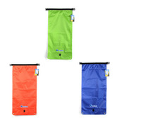 3 Colors BlueField Outdoor Waterproof Dry Bag Sack 22/33L /Samll/L-size Single/Double Shoulder Bucket for Camping Canoe Boating