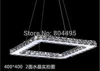 Modern LED Diamond Crystal Pendant Light Raimond Square Crystal  chandelier  Top quality 100% guarantee Fast Shipping