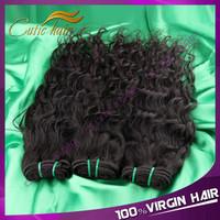 Queen Beauty Hair Indian Virgin Hair Water Wave 3pcs Lot 100% Unprocessed Virgin Hair Extension Human Hair Waave Wet And Wavy