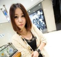 free shipping 2014Gold snake bib necklace chocker collar N144