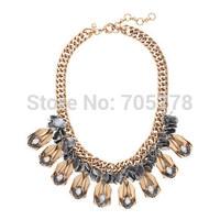 New Auth J-C/-J Jewelry Alloy  NECKLACE  Pendant Necklace Copper Chain