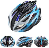 Women/Men Road Bicycle Cycling Helmet,21 Vents Ultralight Integrally-molded EPS Bike Helmets Size 57-62 cm free shipping