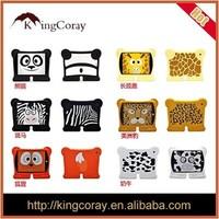 For Ipad mini2 Animal Edition Tablet Sleeve Ipad2 / 3/4/5 sets of silicone cartoon protective sleeve