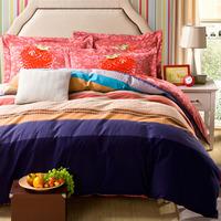 5-pieces 3d queen king size comforter set/quilt/duvet set bed in a bag white bedding fringe duvet cover teen bedding