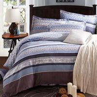 5-pieces 3d queen king size comforter set/quilt/duvet set bed in a bag gary bedding fringe duvet cover man comforter