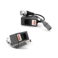 CCTV Balun BNC Video UTP Power 1 Channel Transceiver CAT5 to RJ45 (1pr)