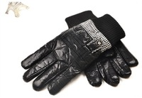 New plaid men's thick winter gloves, windproof cold winter gloves warm gloves men riding essential travel