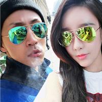 hotsale Polarized sunglasses female color film large sunglasses 2014 sun glasses myopia male star style