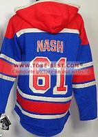 2014 Hockey Jerseys #61 Rick Nash Blue,ice Hockey Hoodie,hooded Sweatshirt,best Quality,embroidery Logos,size M--xxxl,mix Order