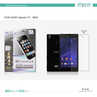 For Sony T3 phone case,Original NILLKIN Super Clear HD Anti-fingerprint or Matte Screen protector For Sony Xperia T3 M50