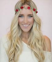 10pcs/lot mix color 2014 new headwear Flower Crown, Floral Crown, Flower Headband, Hair Wreath