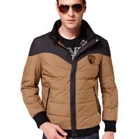 Feee Shipping 2014 New Men's Winter Warm Down & Parkas Men Outdoor Winter Jacket  Casual Coat