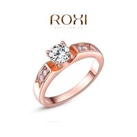 ROXI 2014 Women's Rings Austrian Crystals Fashion golden Fashion Accessories Wedding Rings Free Shipping
