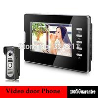 New Home Color Video door Phone Doorbell Intercom System 7 inch LCD Monitor Handfree 700TVL IR Camera