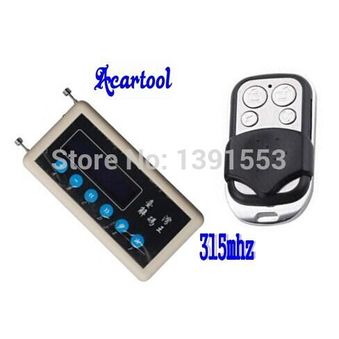Acartool 1pc garage door remote control 315mhz remote key scanner + 315mhz A002 remote key fob CNpost Free Ship(China (Mainland))
