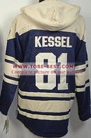 Nhl Mighty Ducks #81 Phil Kessel Milk White,ice Hockey Hoodie, Hoodies Jersey,best Quality,embroidery Logos,size M--xxxl,mix Ord