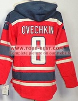 2014 Sale #8 Alex Ovechkin Red,hoodie Hockey Jersey, Hoodies Jersey,best Quality,embroidery Logos,size M--xxxl,accept Mix Order