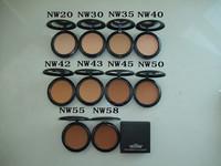 Free ems/dhl (36pcs/lot) brand MC makeup powder New Studio fix powder plus foundation 15G Nw series make up powder cake+LOGO