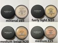 FREE DHL(48piece/lot )New Loose Powder Bare Minerals BareMinerals Original Foundation 8g medium beige,mineral veil,fairly light