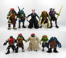 2014 New Movie Teenage Mutant Ninja Turtles Action Figures 10PC