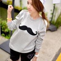 Fashion women clothing sell like hot cakes 2014 autumn female long-sleeve plus size t-shirt long-sleeve loose basic shirt female
