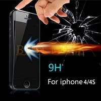 Real Hd Ultra-thin 0.26mm 8-9H 2.5d Toughened Glass Protective Film Perfect High Quality Screen Protectors for iphone 5 5s