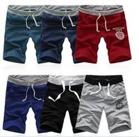 fashion leisure five pants pants for men boy Korean version flanging