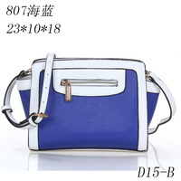 2014 fashion new handbags PU Leather bags women messenger bag/ Splice grafting Vintage Shoulder Handbag