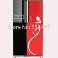 Free shipping New arrive Fashion refrigerator sticker  wall sticker glass sticker