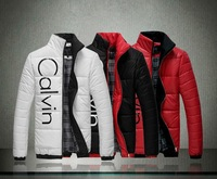 hot sale with brand fashion Men's thicking coat winter overcoat outwear winter Stand collar Duck Down Jackets Coat