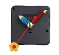 Free shipping,2014 design NewQuartz Silent Clock Movement Mechanism Flower Pen Hand DIY Repair Part Kit