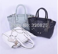 FREE SHIPPING The new 2014 G home female bag single shoulder bag handbag rivet boom lady bags