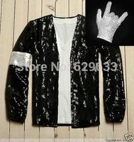 DJ Design Free shipping wholesale Michael Jackson Billie Jean style Jacket & Free glove