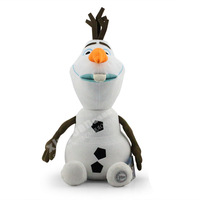2PCS/Lot 30CM Frozen Olaf Plush Toy Stuffed Snowman & Kristoff friend Sven Milu deer plush toy good gift for kids brinquedos
